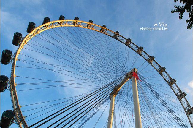 【新加坡景點】全世界最高的摩天輪~SINGAPORE FLYER新加坡摩天輪!-Via's旅行札記