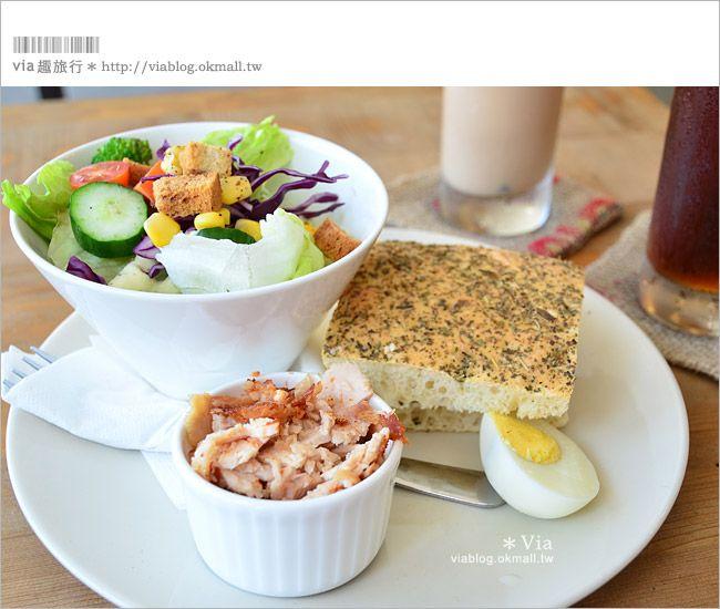 【台東早餐】台東早午餐「有時散步」~台東早午餐的溫馨選擇!-Via's旅行札記