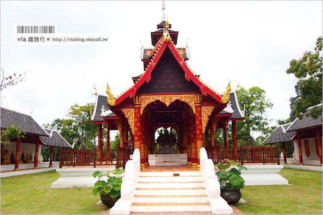 【芭達雅景點】Thai Thani泰國文化藝術村(Thai Art and Culture Village)~質感與美食兼具的古味園區-Via's旅行札記