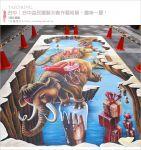 【台中3D立體展】台中益民一中商圈~圖龍3D創作藝術展。體驗3D畫作的無窮樂趣