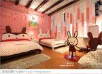 【台南老屋民宿】台南阿朗基公寓*二訪*入住超粉嫩的兔子房!(加映可愛的壞東西房)